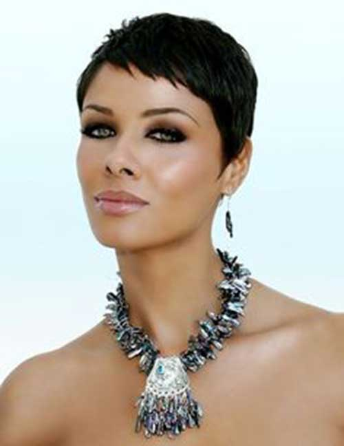 Excellent 30 Newest Short Pixie Haircuts Pixie Cut 2015 Short Hairstyles For Black Women Fulllsitofus