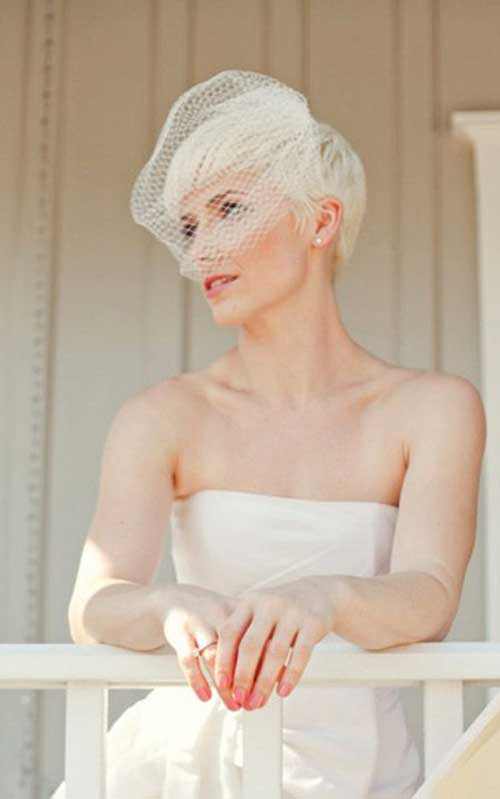 15+ Wedding Hairstyles for Pixie Cuts