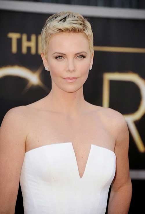 Actresses Blonde Pixie Cuts
