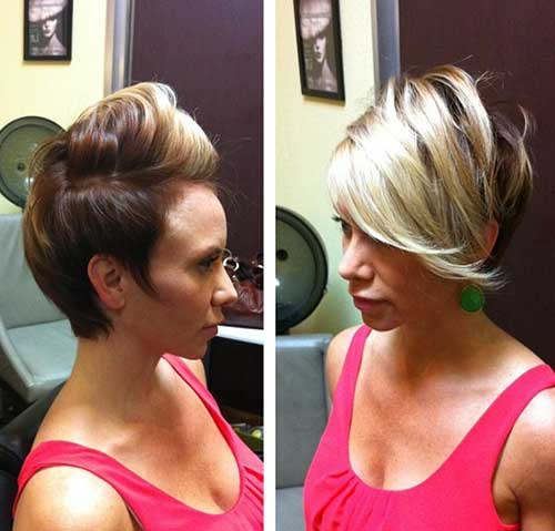 Asymmetrical Long Pixie Haircuts Pictures