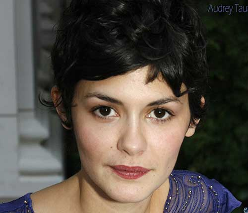 Audrey Tautou Best Pixie Hair Cuts