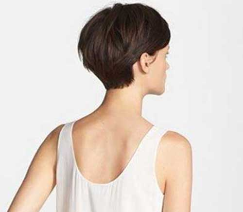 Back of Long Pixie Haircut Pics