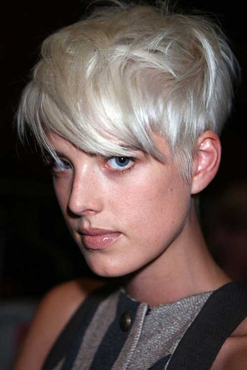 Best Blonde Pixie Hairstyle