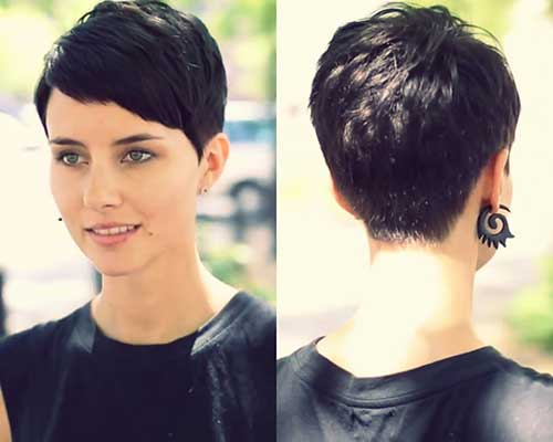 Best Dark Pixie Cut Ideas
