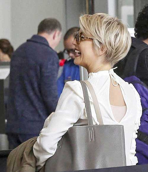 Best Pixie Hairstyles Back View 2015
