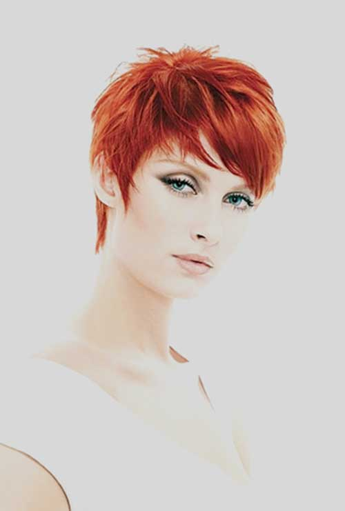 Best Red Pixie Hair Styles