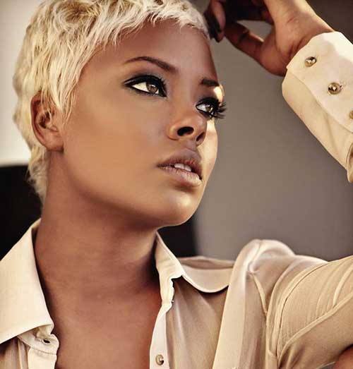 Black Women Hair Pixie