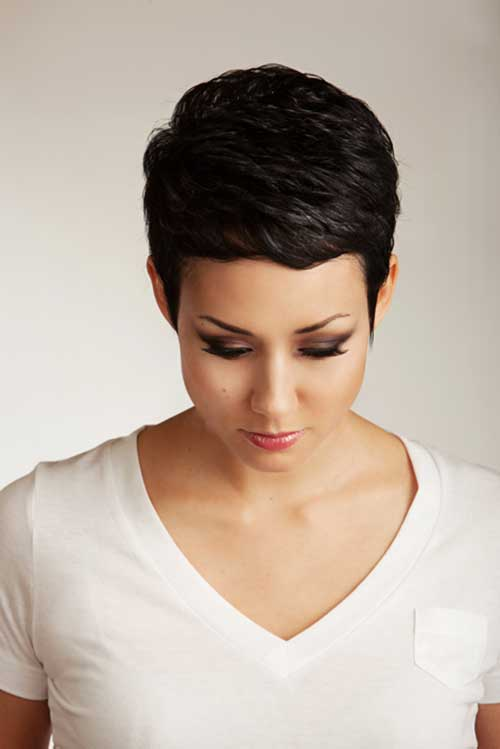 Boyish Short Pixie Hairstyles 2015