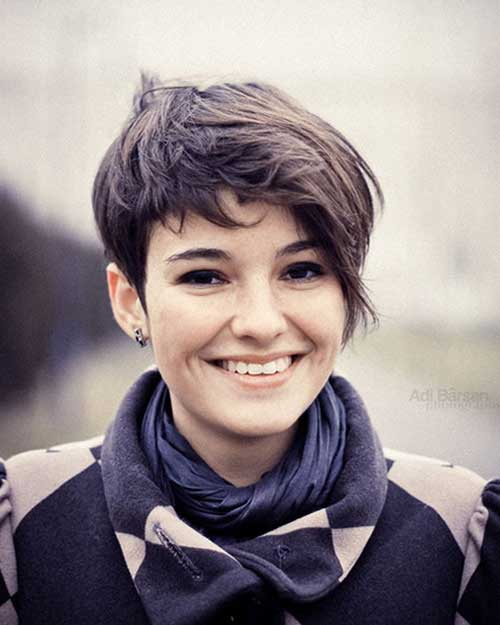 Brown Pixie Cut for Girls Styles