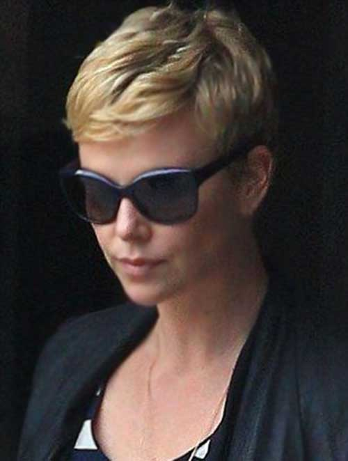 Charlize Theron Daily Pixie Hairstyle