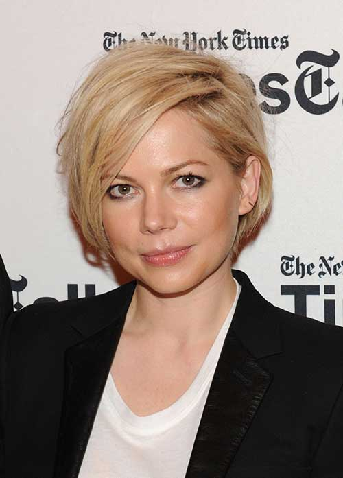 Chic Blonde Pixie Haircuts
