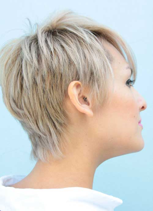 Cool Pixie Haircuts Side View