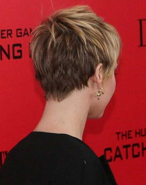 Cool Pixie Hairstyles Back