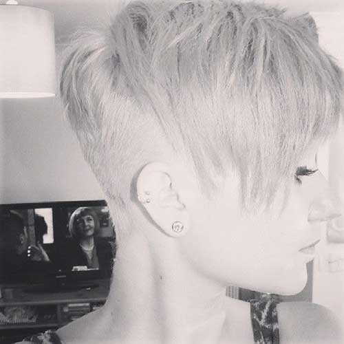Cool Pixie with Undercut Haircuts