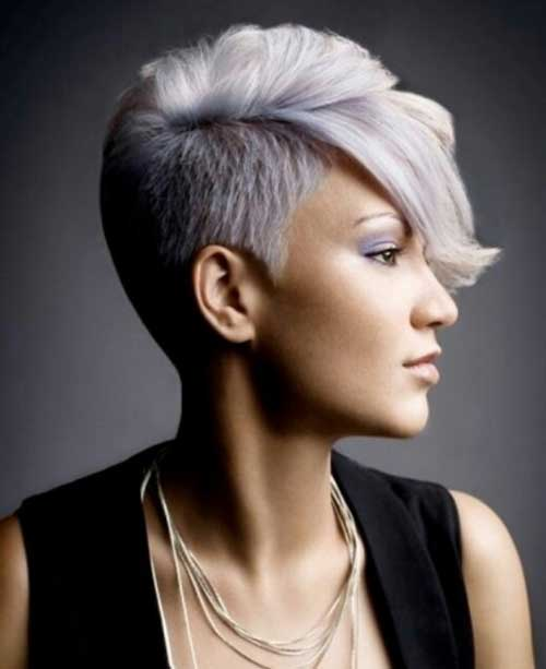 Cool Side Shaved Pixie Haircuts