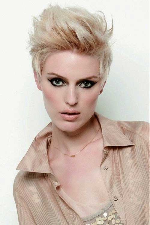 Cool Stylish Blonde Pixie Haircuts
