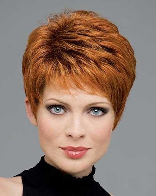 Copper Pixie Hair Color Ideas Women