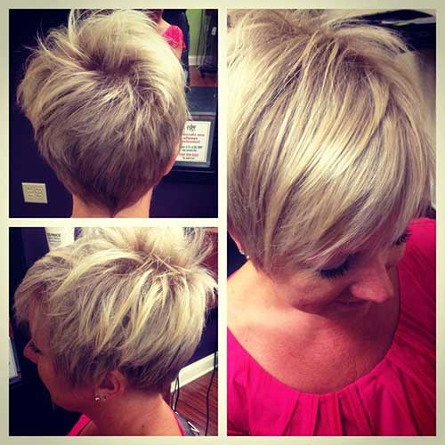 Best Cute Blonde Pixie Haircuts