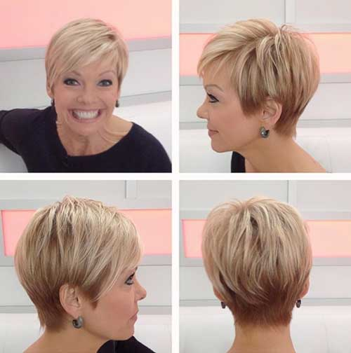 Cute Casual Pixie Cuts 2015