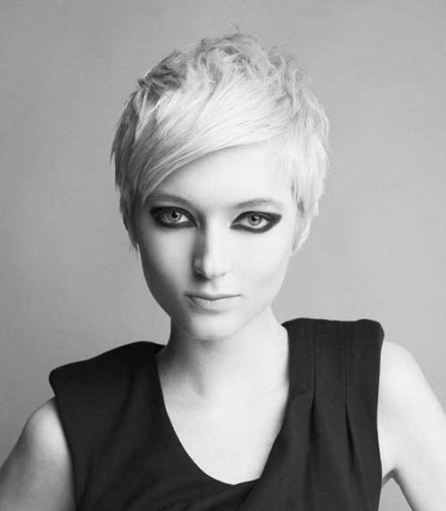 Cute Layered Pixie Hairstyles