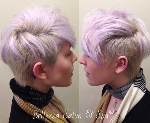 Cute Mohawk Pixie Cut Ideas