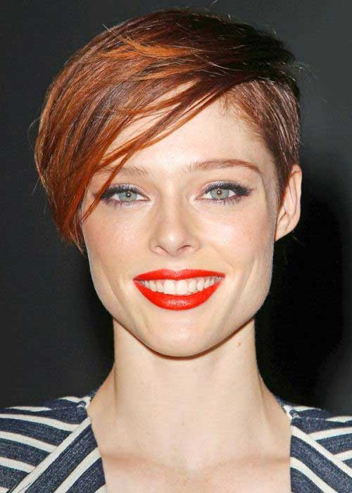 Cute Pixie with Long Bangs Ideas 2014