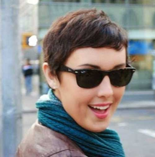 Cute Short Boyish Pixie Hair 2015
