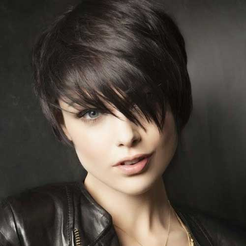Best Dark Layered Pixie Cuts