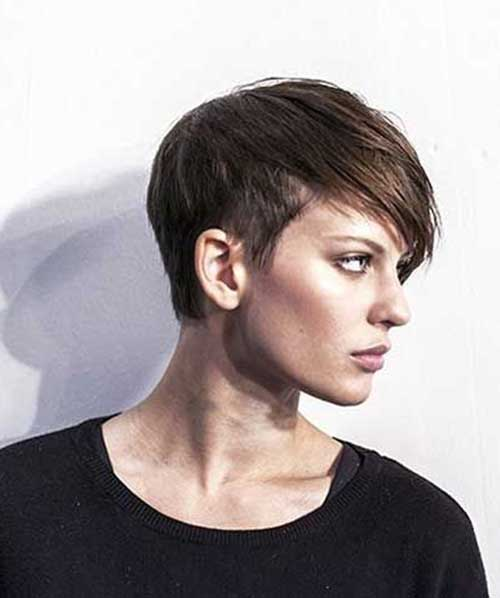 Easy Pixie Cuts Side View