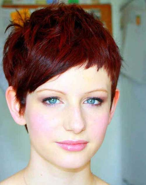 Easy Red Pixie Hairstyles