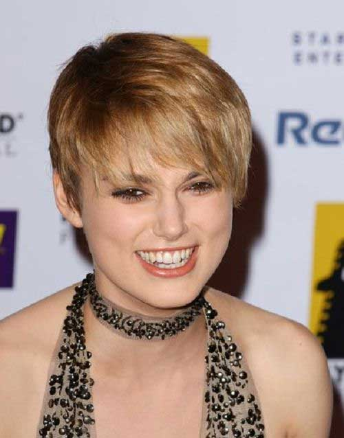 Easy Pixie Cuts Round Face