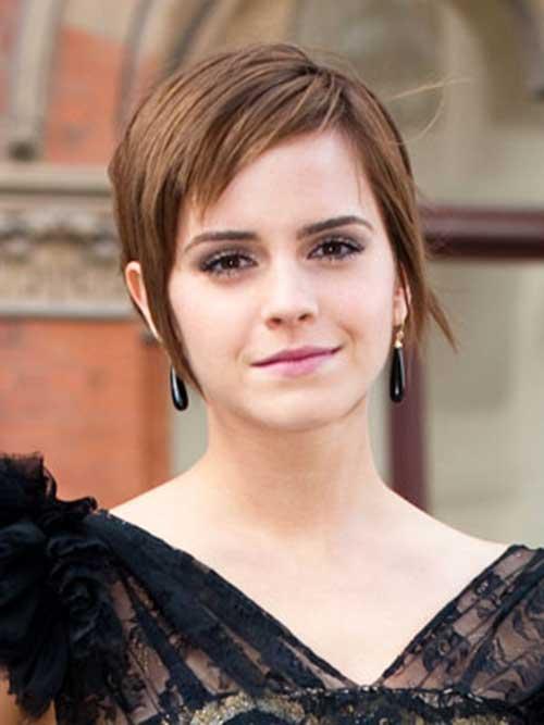 Emma Watson Cute Pixie Haircuts