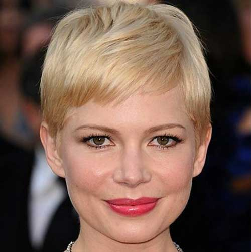 Famous Thin Blonde Pixie Cuts