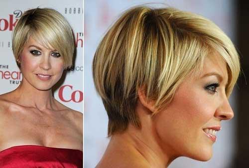 Fine Blonde Pixie Razor Haircut