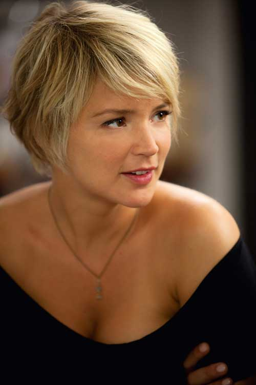 Fine Blonde Pixie Hairstyles for Women