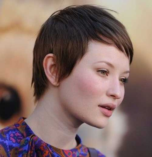 Fine Boyish Pixie Hair Cuts