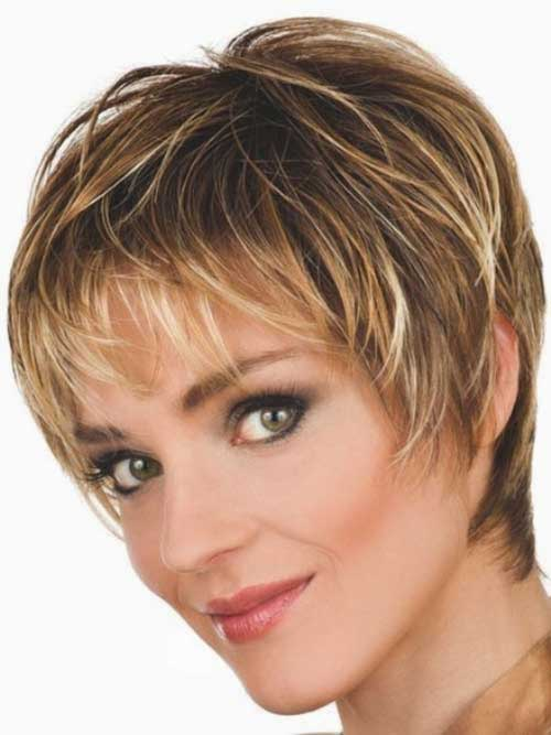 Fine Pixie Straight Hairstyles 2015