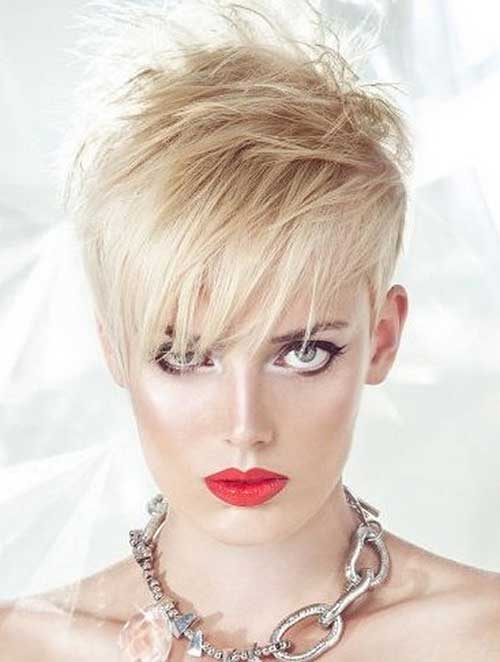 Funky Layered Pixie Hair Cuts