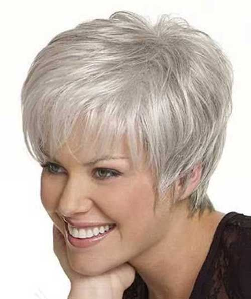 Best Gray Hair Pixie Cuts