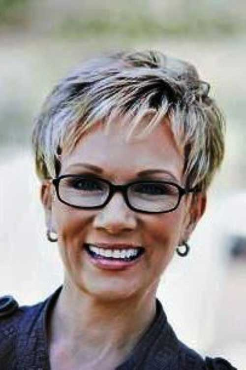 Grey Pixie Hair Cuts for Women Over 50