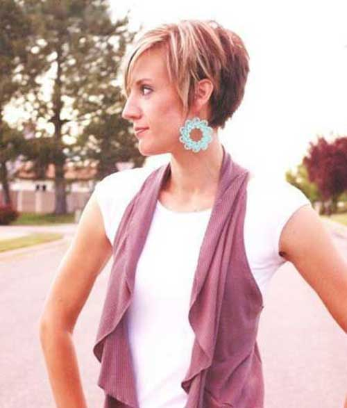 Highligted Hair Color Ideas for Pixie Haircuts