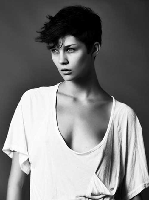 Hottest Dark Pixie Cuts 2014