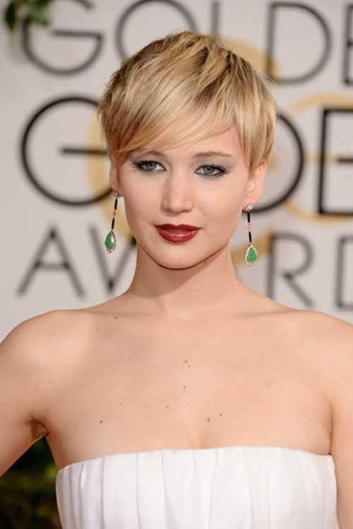 Jennifer Lawrence Nice Pixie Cut 2014