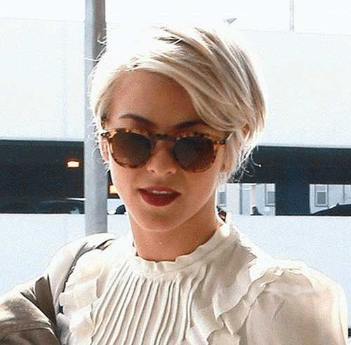 Julianne Hough Long Pixie Haircuts