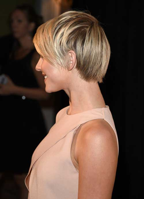 Julianne Hough Pixie Cut Back View