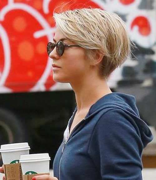 Julianne Hough Pixie Cut Side View