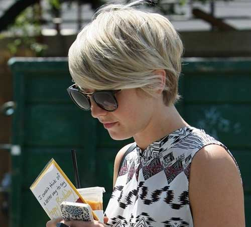 Julianne Hough Pixie Hair Style