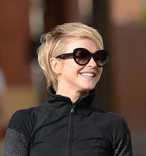 Julianne Hough Short Pixie Haircuts