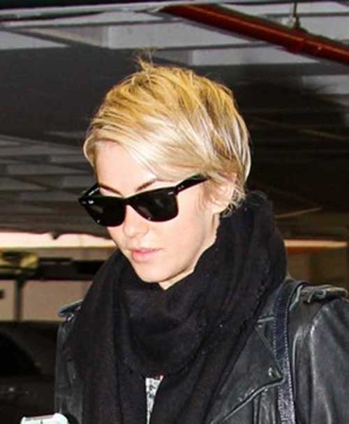 Julianne Hough Stylish Pixie Cut