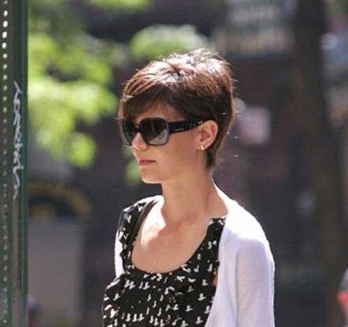 Katie Holmes Trendy Pixie Cuts